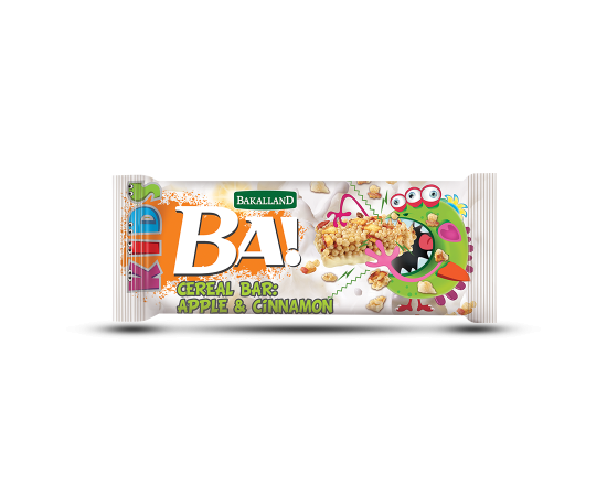Bakalland Energy Bar Apple & Cinnamon 30x25g - Bulkbox Wholesale