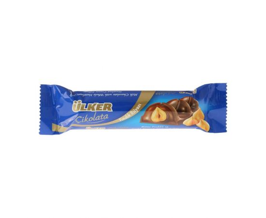 Ulker Milk Chocolate With Hazelnuts Bar 24x40.5g - Bulkbox Wholesale