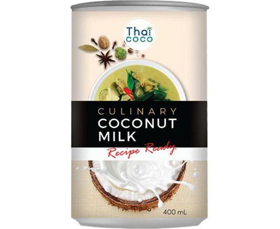 Thai coco Coconut Milk 12x400ml - Bulkbox Wholesale