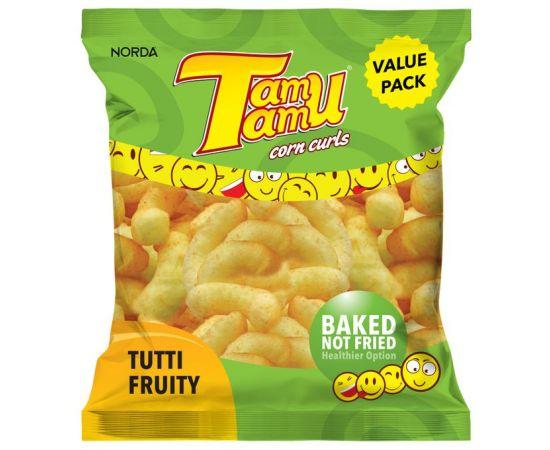 Tamu Tamu Tutti Fruity Strips 50x15g - Bulkbox Wholesale