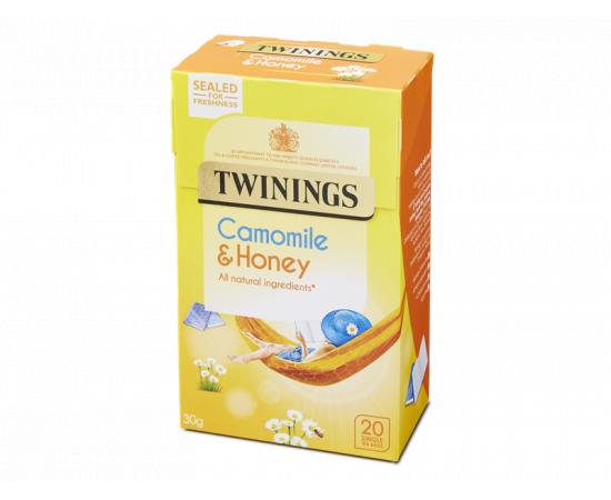Twinings Infusion Camomile Honey & Vanilla 4x20s - Bulkbox Wholesale