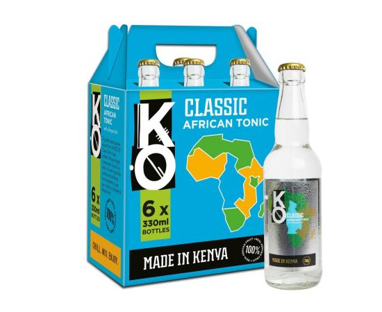 Kenyan Originals Classic African Tonic Water 6 x 330ml - Bulkbox Wholesale
