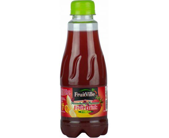 Fruitville Strawberry Banana Juice - Bulkbox Wholesale