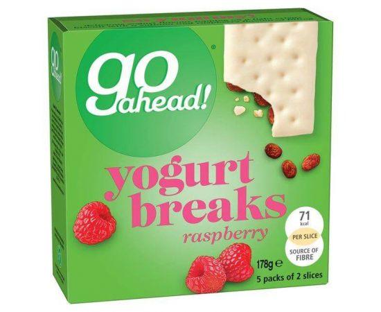 Go Ahead Yoghurt Bars Strawberry 9x178g - Bulkbox Wholesale