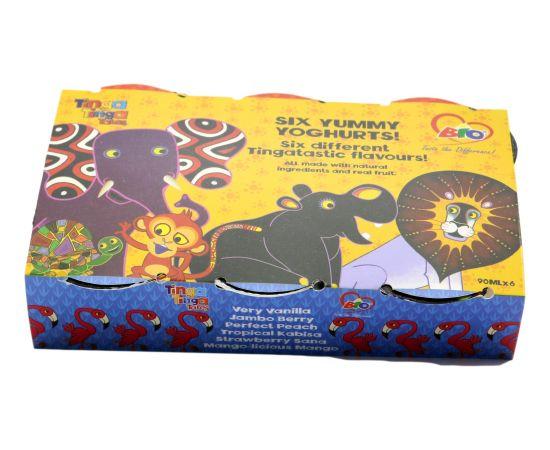 BioTinga Tinga Yoghurt Very Vanilla 12x90ml - Bulkbox Wholesale