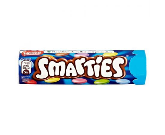 Nestle Smarties Hexatube 16x38g - Bulkbox Wholesale