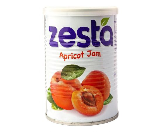 Zesta Apricot Jam Tin - Bulkbox Wholesale