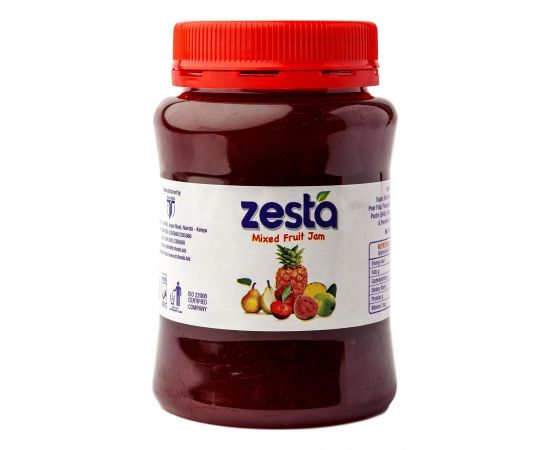 Zesta Mixed Fruit Jam Jar - Bulkbox Wholesale
