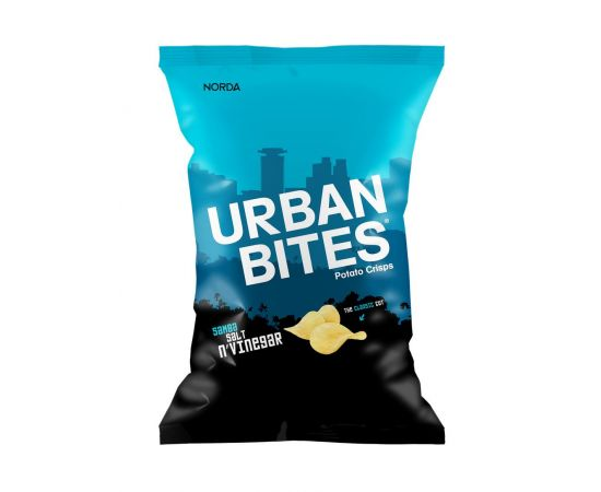 Urban Bites Samba Salt & Vinegar Crisps - Bulkbox Wholesale