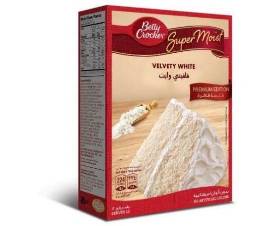Betty Crocker White Cake Mix 6x510g - Bulkbox Wholesale