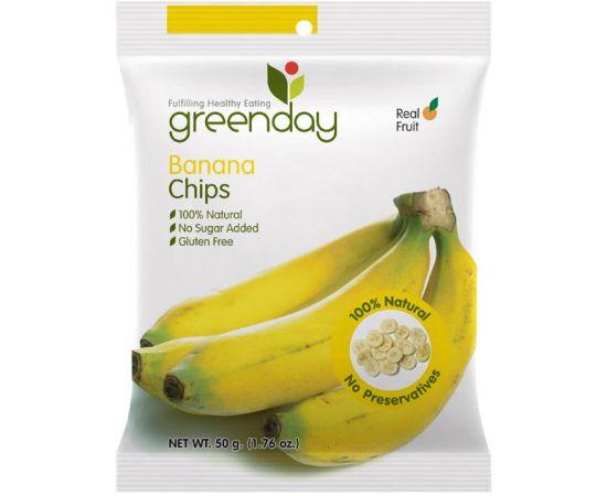 Greenday Banana Chips 12x50g - Bulkbox Wholesale