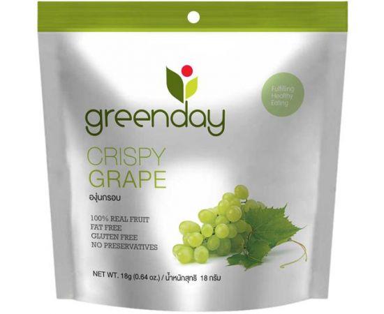 Greenday Crispy Grape 12x18g - Bulkbox Wholesale