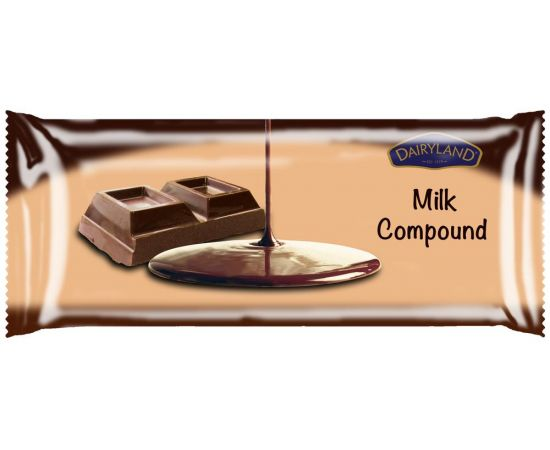 Dairyland Milk Compound Chocolate Retail Pack 20x500g - Bulkbox Wholesale