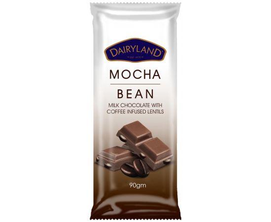 Dairyland Mocha Bean Chocolate 12x90g - Bulkbox Wholesale