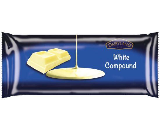 Dairyland White Compound Chocolate - Bulkbox Wholesale