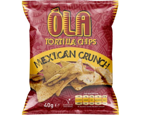 Ola Tortilla Chips Mexican Crunch - Bulkbox Wholesale
