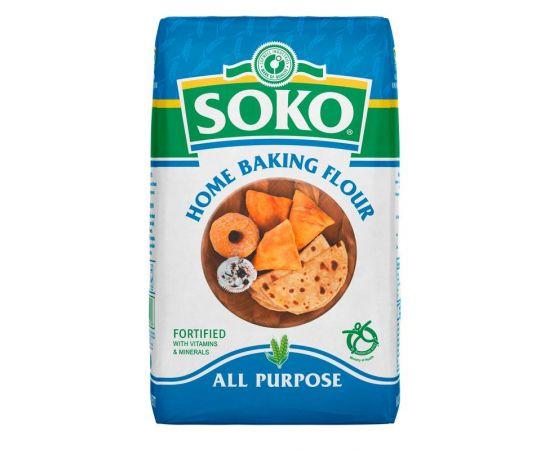Soko Home baking Flour 12x2Kg - Bulkbox Wholesale