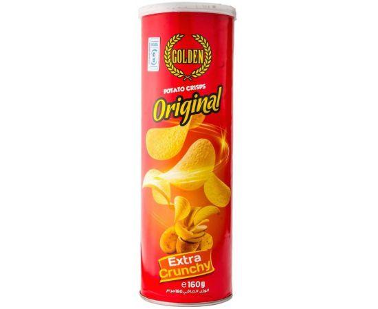 Golden Potato Crisps Original 24x160g - Bulkbox Wholesale