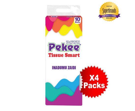 Dawn Pekee Smart 2-Ply Toilet Tissue - 10s'x4 - Bulkbox Wholesale