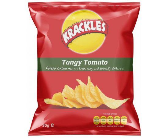 Krackles Potato Crisps Tangy Tomato - Bulkbox Wholesale